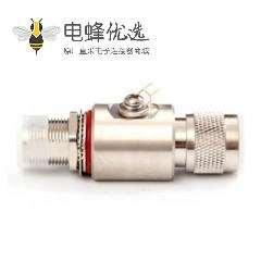 N型避雷器公转母N-JKY直式IP67RF射频避雷器DC-3GHz