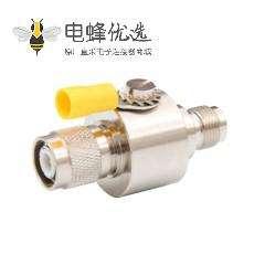 TNC避雷器公转母IP67直式DC-3GHzRF射频避雷器