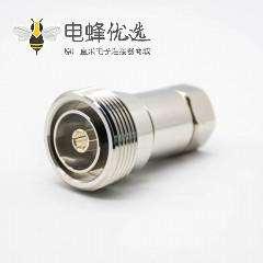 1 2din母头直式DIN7/16接线焊接1/2馈线标准RF连接器