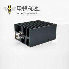 N负载连接器公头直式标准螺纹连接同轴射频避雷器
