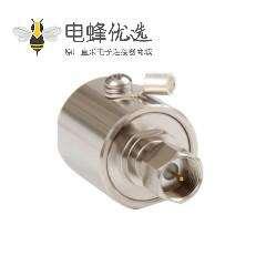 FL连接器直式公制FL10母转母IP67RF射频避雷器
