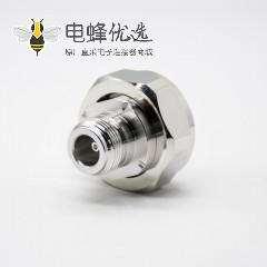 N母头转DIN7/16公头直式RF转接头镀镍同轴连接器