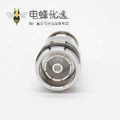 N母头转4.3/10母直式RF转接头镀镍同轴连接器