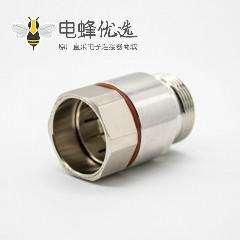 7-8馈线连接器DIN型母头DIN7/16直式焊接镀镍