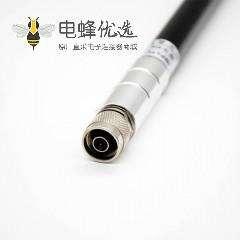 4g室内天线远程N公插头连接器标准直式螺纹连接