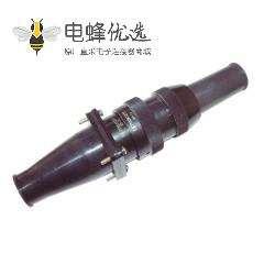 铁路连接器TY系列32壳体12芯公插头&母插座公母对接卡口连接直式
