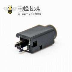立式dc插座DC电源连接器贴片焊接弯式不带屏蔽母插座插孔