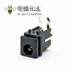 dc电源插座弯式不带屏蔽公插座DC电源连接器插孔贴片焊接