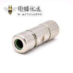 插座8芯 M40系列 直式工业母头接线连接器