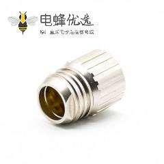 M23 19芯孔母插头接线焊线直式带屏蔽