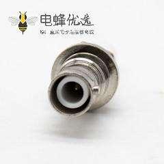 SHV公头后锁板焊线式接线直式连接器