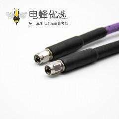 2.92SMA公转公头不锈钢2.92mm直对直式延长线测试组件微波线材