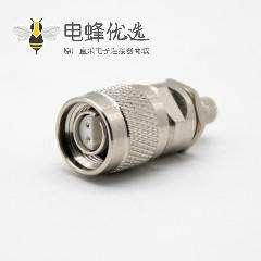 tnc射频连接器四芯TNC两公两母直式连接器