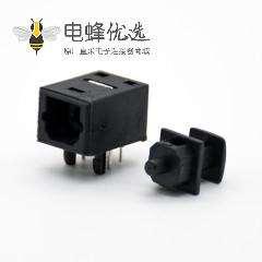 光纤接收器单头插座弯式插孔面板安装