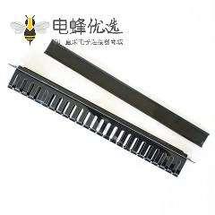 网络配线架用于电缆管理全塑料不带屏蔽
