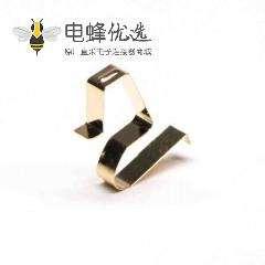 铍铜弹片镀金连接器