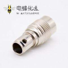 6芯公插头反装针型直式焊线HR10系列微型推拉自锁连接器