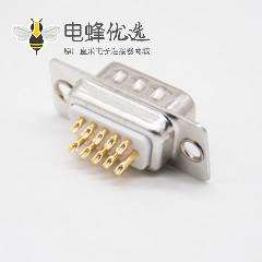车针D Sub连接器3排15芯公头直式焊杯接线