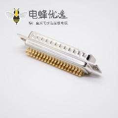 D-sub车针4排78针公头焊杯直式D型连接器