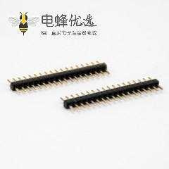 直式排针连接器1.1MM间距公头插板单排18针