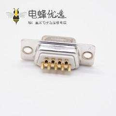 9Pin D-sub母座9芯冲针白色胶芯2排标准型DB连接器