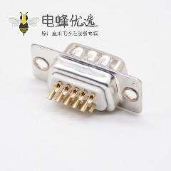 D-sub连接器公头3排直式焊杯15芯标准型冲针
