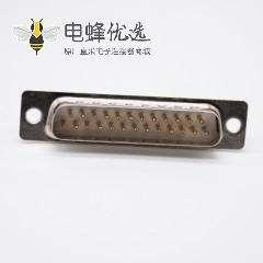 DB25接口公头2排直式标准型冲针焊杯式D Sub连接器