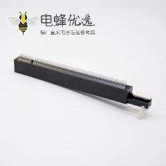 PCIE 164连接器带转接卡夹板式卡槽PCI-E16X插槽