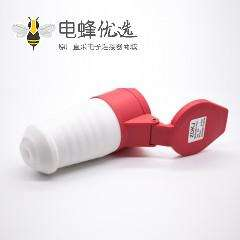 工业连接器插座防水IP44 5芯母头16A 380V-415V 三相3P+N+E