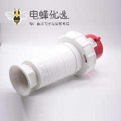 63A三相四线工业插头3P+E 4芯公头IP67 380V-415V
