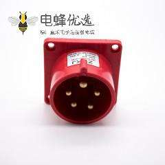 暗装16A插座5芯公头380V-415V IP44三相五线3P+N+E