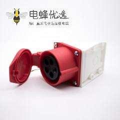 16A明装防水插座5芯母头三相3P+N+E 380V-415V IP44