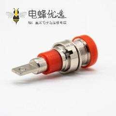 香蕉母座电池大电流插座接线直式香蕉头连接器