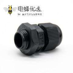 PG7型尼龙电缆防水接头德制螺纹IP68电缆固定头