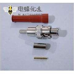 射频同轴连接器SHV-BNC-J-C-3 5KV高压接头