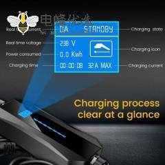 电动汽车充电器电池充电器充电枪新能源汽车供电设备接CEE电源插头