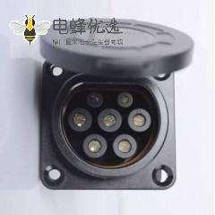 新国标交流充电枪16A/32A GB/T20234 7孔桩端充电插座