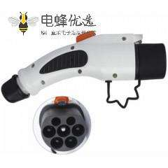 充电枪新国标GB/T20234车辆端7孔充电插头AC 16A/32A/63A
