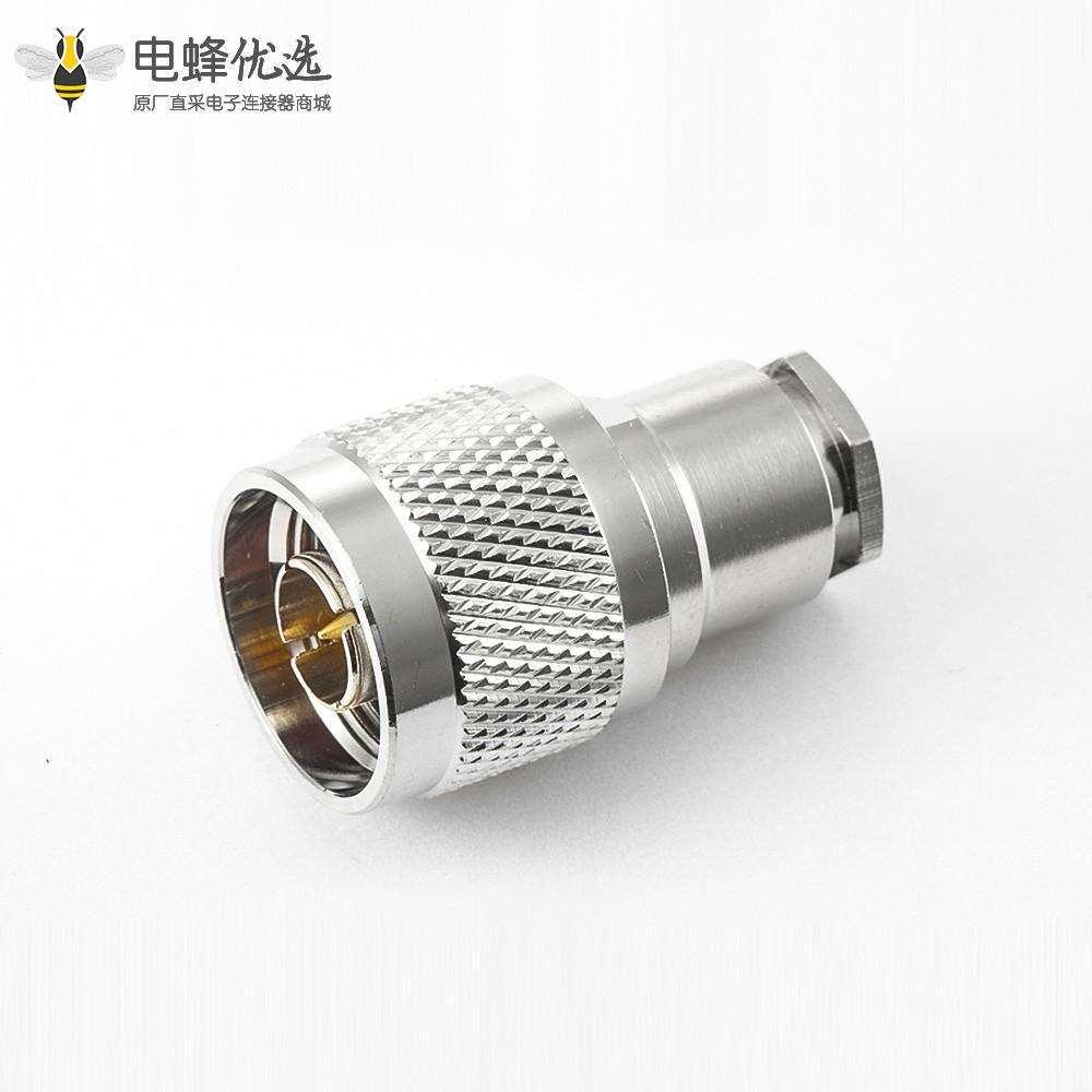短式N型连接器直式公头螺母锁紧5D-FB LMR300