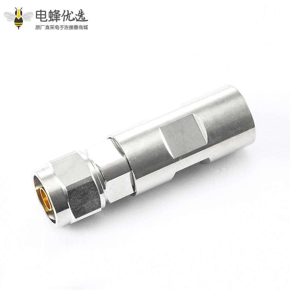 公头N型连接器直式螺母锁紧1/2普通电缆