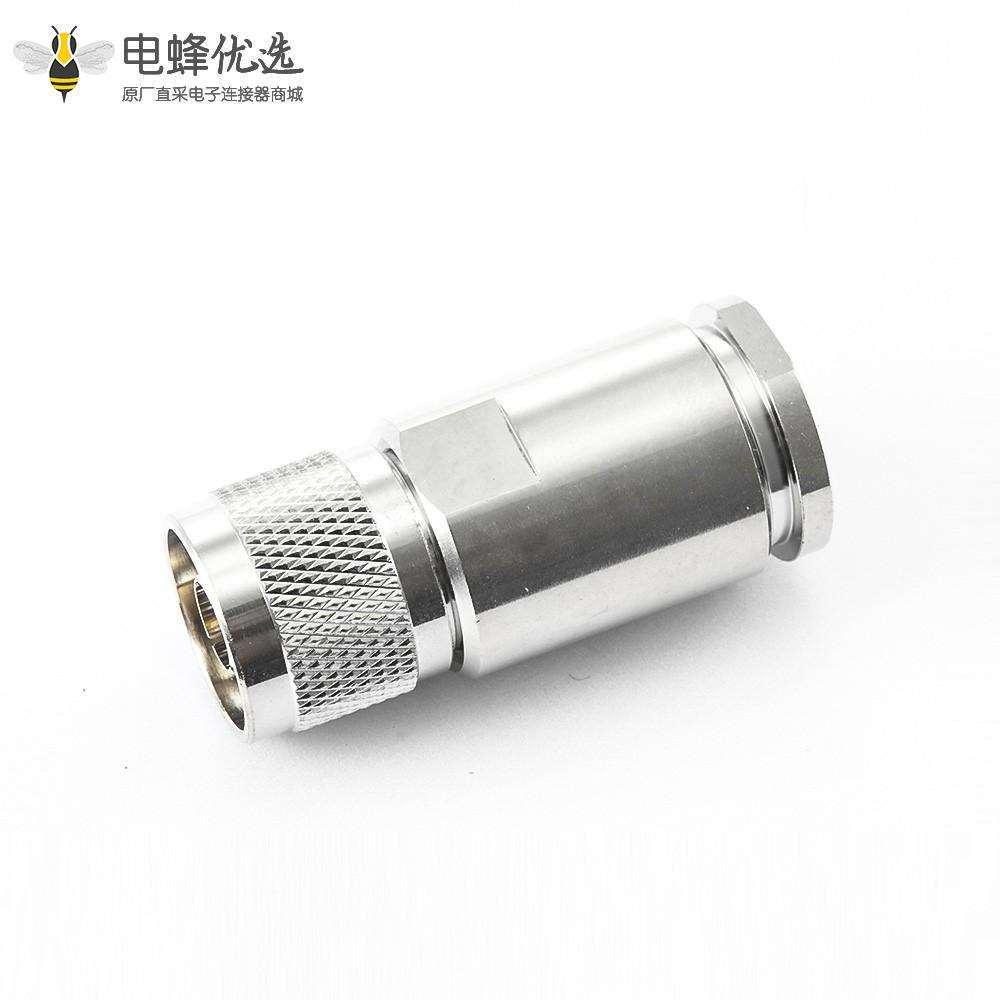 同轴连接器N公头直螺母锁紧10D-FB LMR500