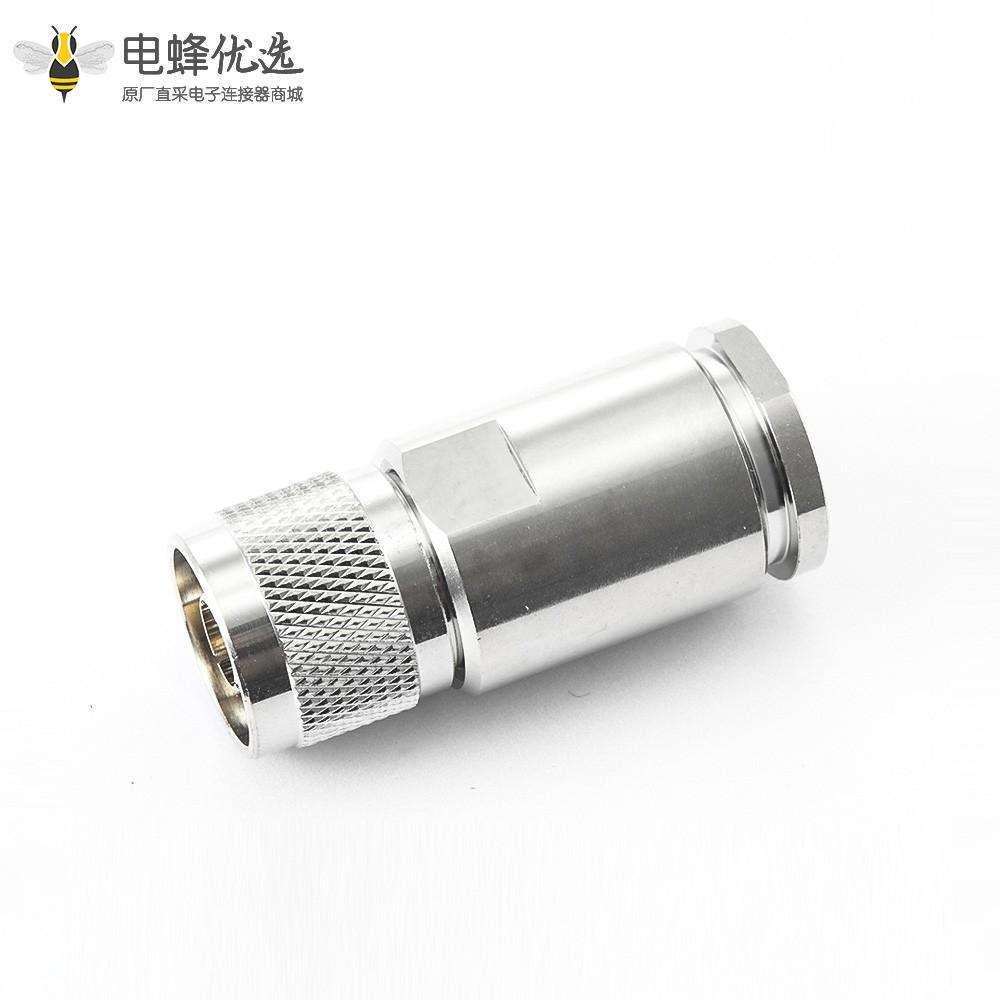 公头同轴N型连接器直螺母锁紧10D-FB LMR500