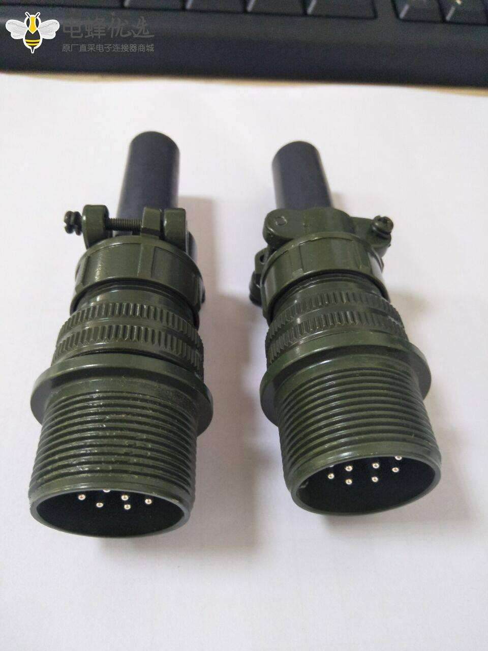 MS3101A18-12P 6针公电缆连接插座