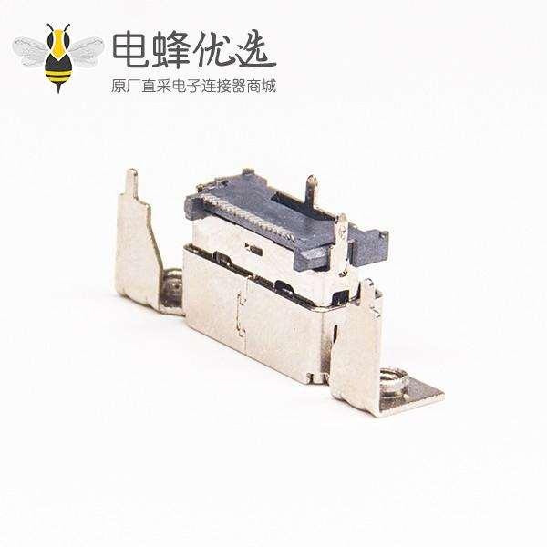 HDMI公座带支架穿孔板端