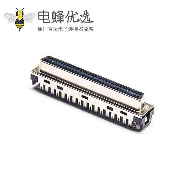 SCSI直插连接器母头刺破式接线插座