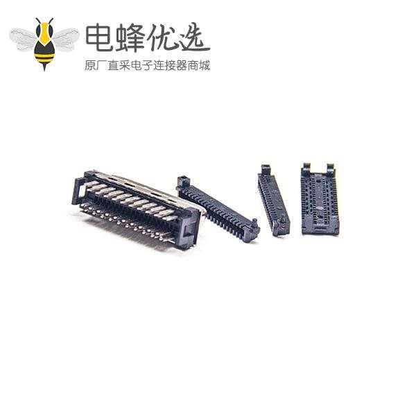 SCSI36连接器36芯公头直式刺破式接线插头