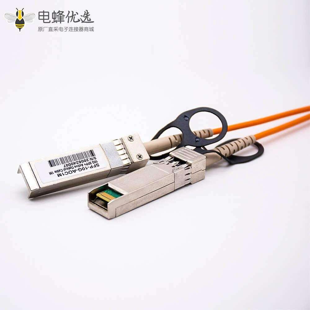 SFP+AOC有源光缆SFP+转SFP+传输速率10Gbps线长1M