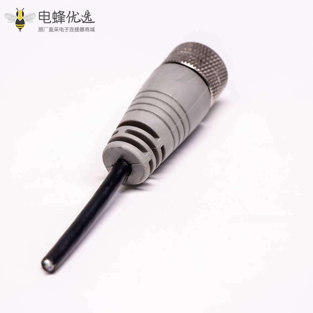 直公头IP67Mini USB5芯0.3米线材
