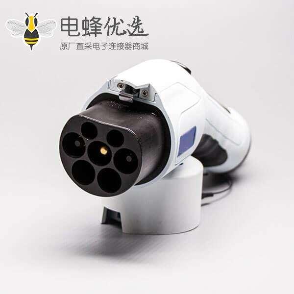 国标电动汽车供电端充电桩端充电枪交流32A