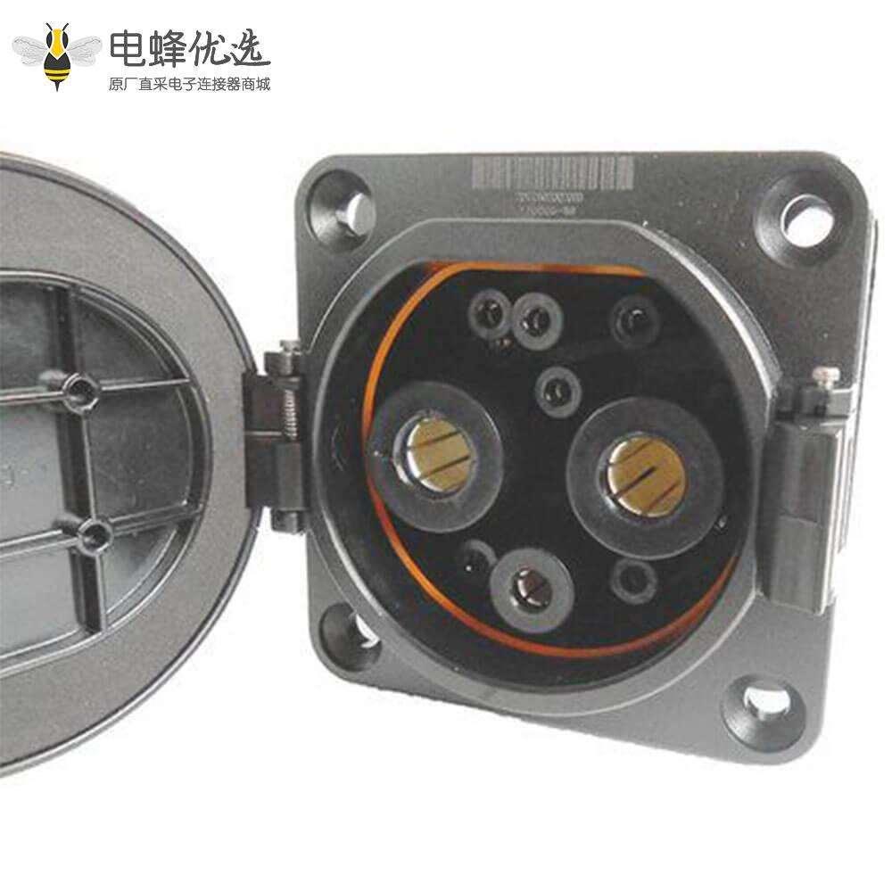 新国标汽车充电枪GB/T20234 9孔直流车辆端充电插座